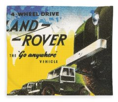 Land Rover Fleece Blanket