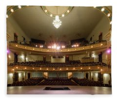 Landers Theatre Fleece Blanket