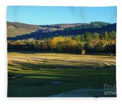 Landscape 6 Fleece Blanket