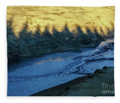 Landscape 7 Fleece Blanket