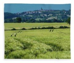 Landscape 8 Fleece Blanket