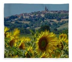 Landscape 9 Fleece Blanket