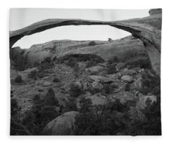 Landscape Arch Fleece Blanket