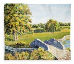 Landscape No. 12 Fleece Blanket