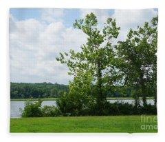 Landscape Photo II Fleece Blanket