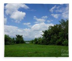 Landscape Photo Fleece Blanket