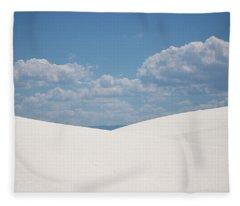 Landscapes Of White Sands 11 Fleece Blanket