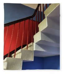 Lanhydrock Stairs Fleece Blanket