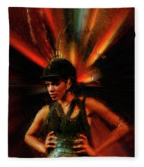 Lani Lew Fleece Blanket