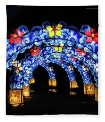 Lantern Arches Fleece Blanket