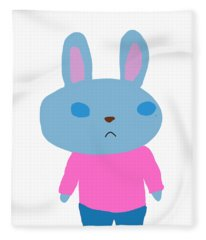 Lapin-kun Fleece Blanket