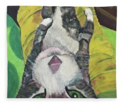 Laptop Fleece Blanket