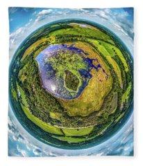 Larkin Lake Little Planet Fleece Blanket