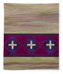 Las Cruces Fleece Blanket