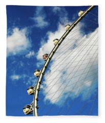 Las Vegas Ferris Wheel Fleece Blanket