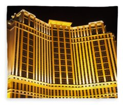 Las Vegas Gold 2  Fleece Blanket