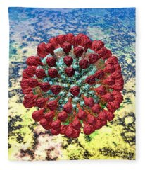 Lassa Virus Fleece Blanket
