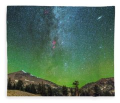 Lassen Nights Fleece Blanket