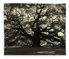Last Angel Oak 72 Fleece Blanket