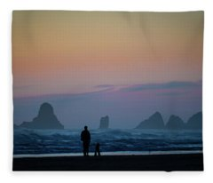 Last Colors Fleece Blanket