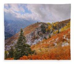 Last Fall Fleece Blanket