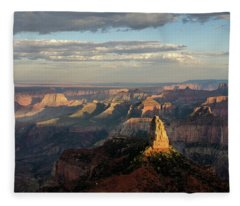 Last Light Mt Hayden Fleece Blanket