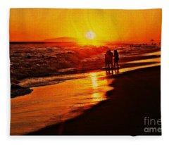 Lasting Memory Fleece Blanket