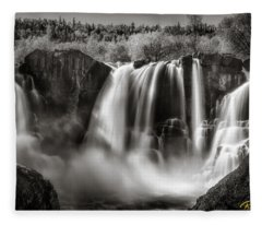 Late Afternoon At The High Falls Fleece Blanket