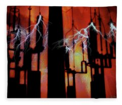 Latent Voltage Fleece Blanket