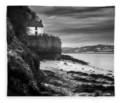 Dylan Thomas Boathouse 5 Fleece Blanket