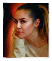 Lauren Luna Fleece Blanket