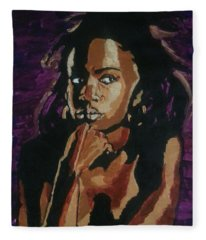 Lauryn Hill Fleece Blanket