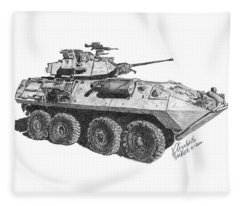 Lav-25 Fleece Blanket