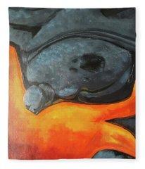 Lava 1 Fleece Blanket