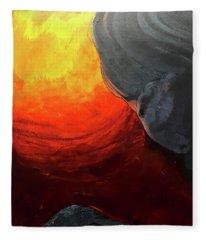 Lava 2 Fleece Blanket