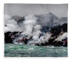 Lava Shelf Fleece Blanket
