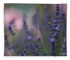 Lavender Dreams Fleece Blanket