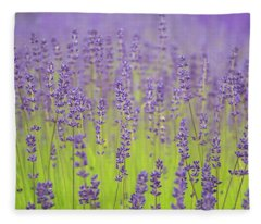 Lavender Fantasy Fleece Blanket