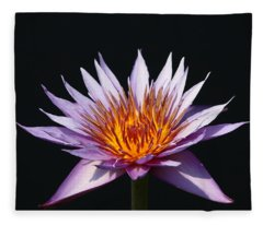 Lavender Fire 1 Fleece Blanket
