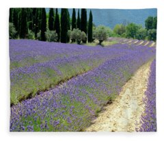 Lavender Flow Fleece Blanket
