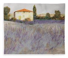 Rural Scene Fleece Blankets