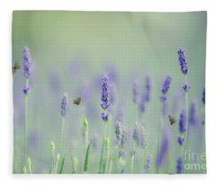 Lavender Magic Fleece Blanket