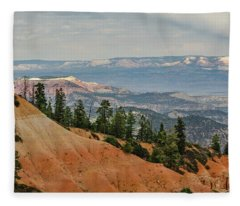 Layers And Light At Bryce Canyon Fleece Blanket