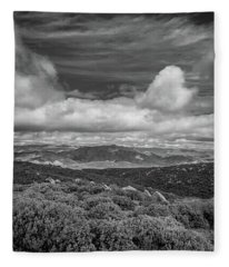 Layerscape Fleece Blanket