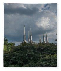 Lds Storm Clouds Fleece Blanket
