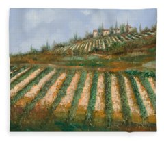 Le Case Nella Vigna Fleece Blanket