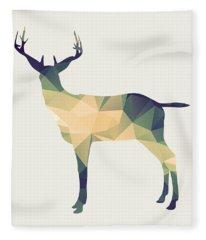Le Cerf Fleece Blanket