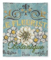 Floral Garden Fleece Blankets
