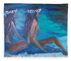 Le Hawaiane  Fleece Blanket