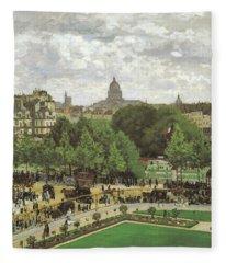 Le Jardin De L Infante Fleece Blanket
